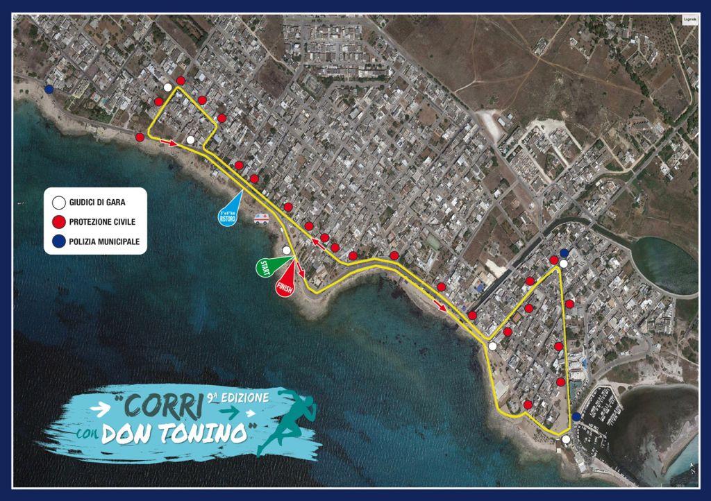Mappa della gara